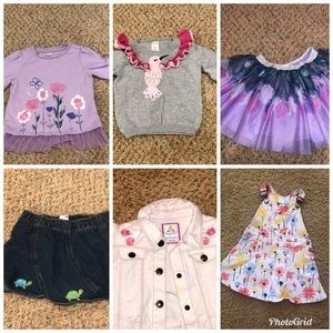 BUNDLE of Gymboree Girls Outfits